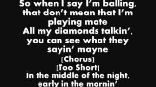 Wiz Khalifa Ft Too $hort - On My Level (Lyrics)