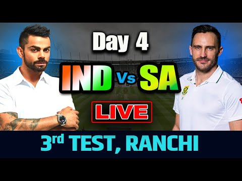 Live: India Vs South Africa 3rd Test, Day 4 | Live Score And Commentary | Ind vs Sa 2019