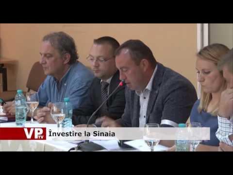 Învestire la Sinaia