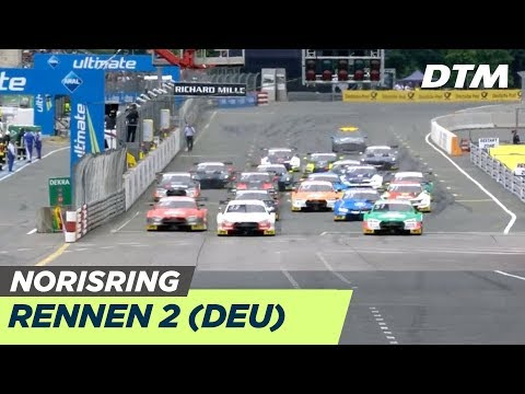 DTM Norisring 2019 - Rennen 2 - RE-LIVE (Deutsch)
