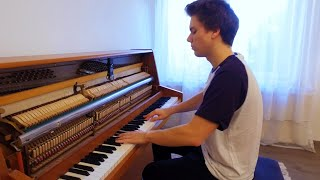 Auli'i Cravalho   How Far I'll Go (Moana Soundtrack) Piano Cover By Peter Buka