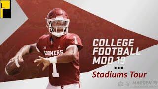 Madden 19 Mods - NCAA Football Fields - 免费在线视频最佳电影