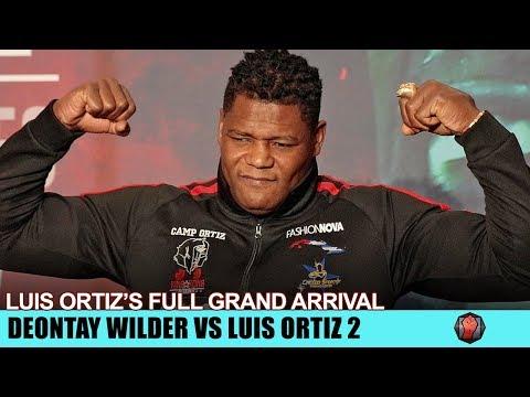 KING KONG COMETH - LUIS ORTIZ ARRIVES IN LAS VEGAS READY FOR WILDER ORTIZ 2