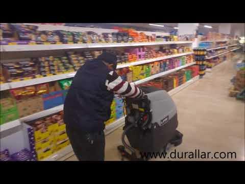 Market Temizlik Makinesi Lavor Free Evo 50 B Akülü