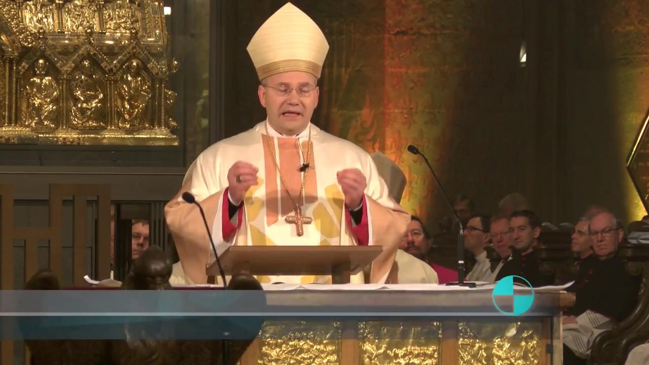 Bischof Dr. Helmut Dieser - Einführung in Aachen