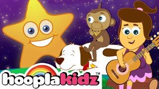 Twinkle Twinkle Little Star | Nursery Rhymes & Kids Songs for Babies by HooplaKidz