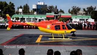 preview picture of video 'Helicóptero Coyote I. Banderazo de salida. 24/feb/2013'