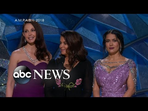 How the Oscars addressed #MeToo and Time's Up