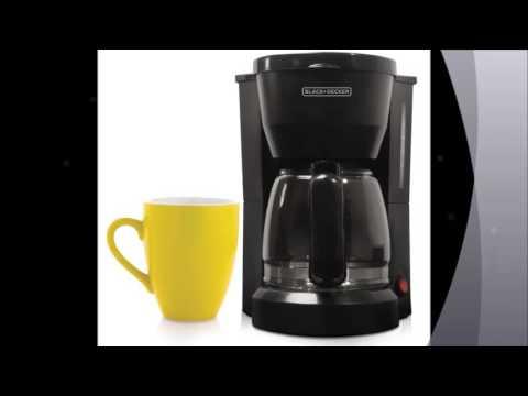 Best Deal Black & Decker DCM600B 5 Cup Coffeemaker, Black