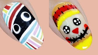 Halloween Nails 2019 🕸 🕷 🦇Designs Compilation #1 💄😱 New Nail Art Design