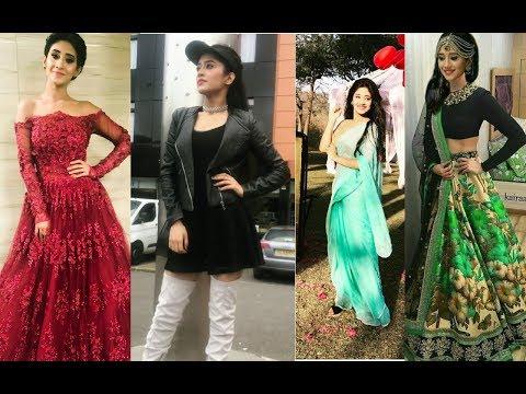 Naira (Shivangi Joshi - indian TV actress) unseen photos with stylish dresses