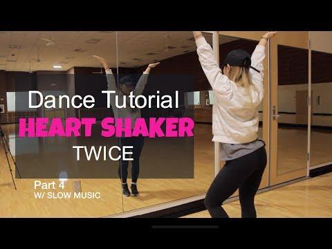 """TWICE(트와이스) """"Heart Shaker"""" _ Lisa Rhee Dance Tutorial"""