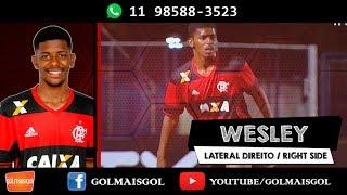 Wesley David De Oliveira Andrade - Lateral Direito - Www.golmaisgol.com.br - FLAMENGO