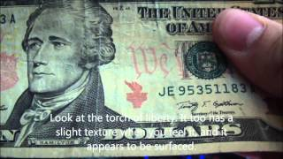 How to Detect a Counterfeit $10