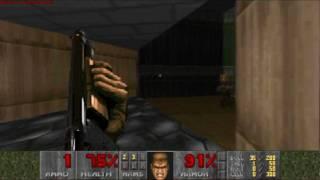doom 1 first level ultra violence (HD)