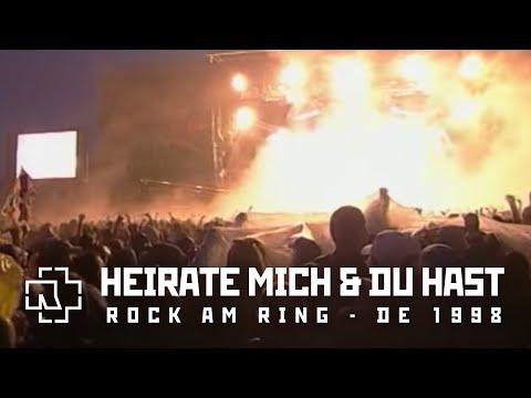 Rammstein - Heirate Mich & Du Hast (Rock am Ring Festival 1998)