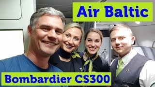 Air Baltic Bombardier CS300 Business Class