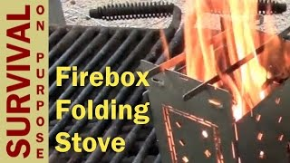 Firebox Folding Stove Review - Best Survival Gear