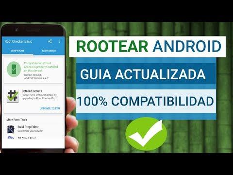 ROOTEAR Cualquier Android 2018 | Ser Root Todas las Versiones Guía Completa Actualizada