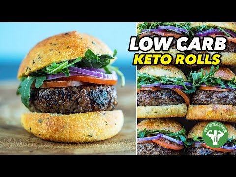 Low Carb Keto Rolls And Sliders – Super Bowl Recipe