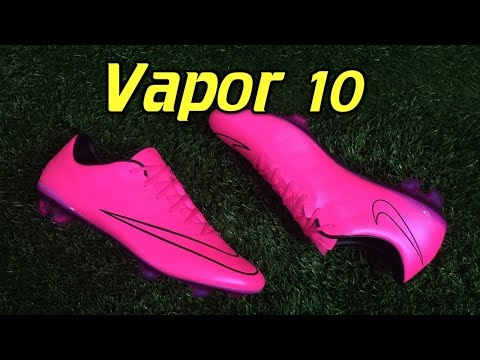 Nike Mercurial Vapor 10 Lightning Storm Hyper Pink - Review + On Feet