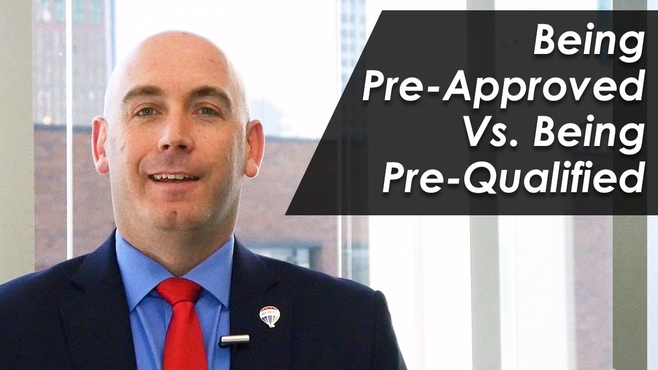 Do You Know the Difference Between a Pre-Approval and Pre-Qualification?