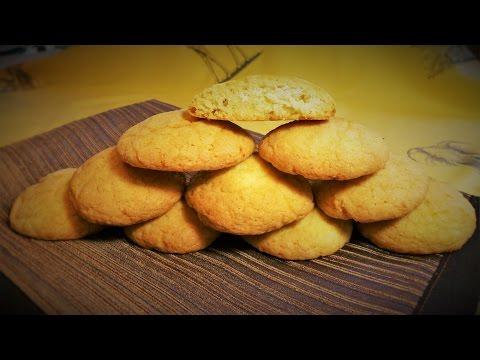 Нежное печенье с начинкой из творога и кокоса \cookies with a coco and cottage cheese