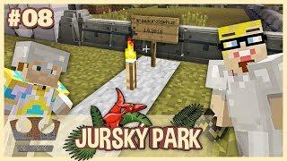 Zemřel nám dinosaur! - MINECRAFT JURSKÝ PARK #08
