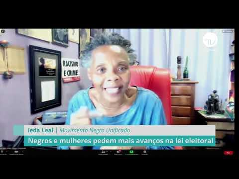 Negros e mulheres pedem avanços na lei eleitoral - 06/04/21