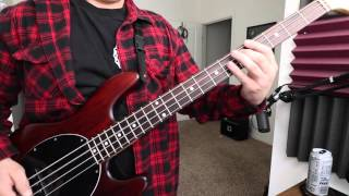Descendents - Talking (Bass Cover)