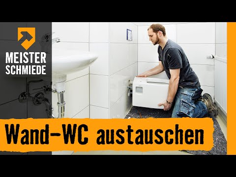 Wand-WC austauschen | HORNBACH Meisterschmiede