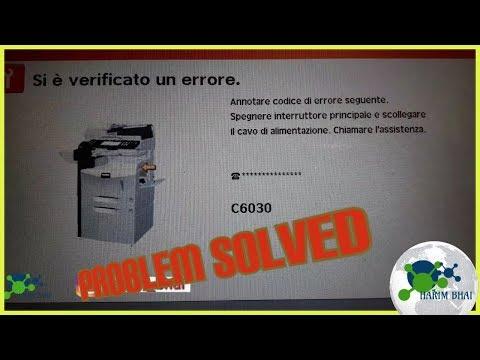 C6030 Error code Kyocera||codice er C6030  Kyocera