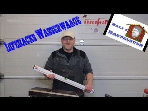 Lifehack Wasserwaage und Alternative! Wasserwaagenkeil von Wolfcraft!