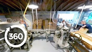 Explore Tim's Moonshine Distillery in 360° Virtual Reality! (360 Video)