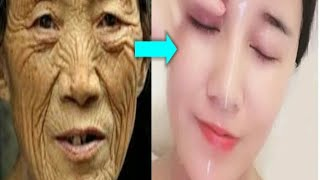 50 YEAR OLD WOMAN LOOK 20 WITH PEELING ANTI AGEING SKIN SOLUTION
