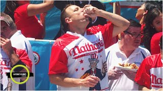 Can Joey Chestnut top the 2020 hot dog eating contest record?   Parting Shots   Outside the Lines