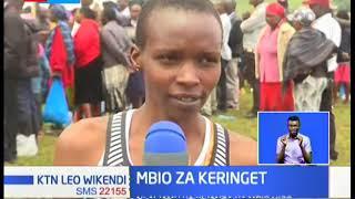 Josephat Bett na Everlyne Chirchir ndio washindi wa awamu ya kwanza katika mbio za Eneo la Keringet
