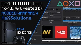 PS4-AIO RTE Tool Overview 1.76