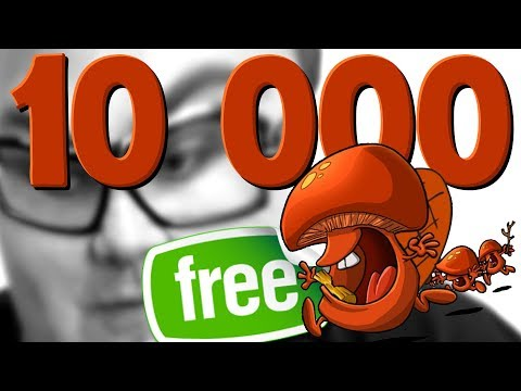 V TOMHLE VIDEU JE 10 000 HUB ZDARMA!!!!