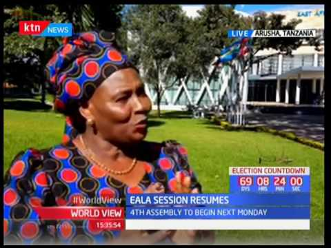 4th Assembly to begin next week: Mumbi Ngaru-EALA member Kenya