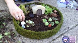 How To Make A Miniature Fairy Garden (Step-by-Step)