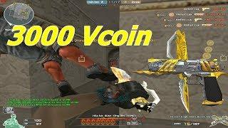 Khẩu Lục Đắt Nhất CF : DE Hoàng Đế Imperial Gold 3000 Vcoin - Tiền Zombie v4