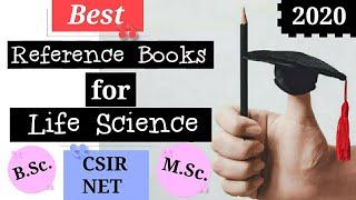 Reference Books For Life Science #referencebooksforcsirnetlifescience #lifesciencebooks