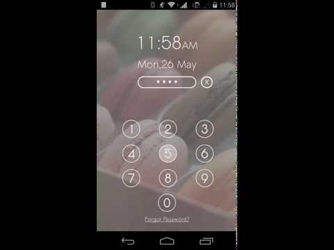 Video of Screen Lock - Time Password