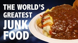 THE WORLD'S GREATEST GARBAGE PLATE 🥘