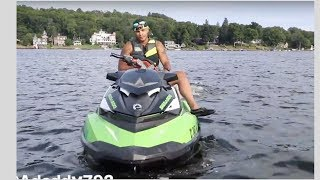 How To Do a Donut on a JetSki. { Watch and Learn}