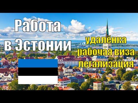 "Работа в Эстонии на себя и дистанционно. Рабочая виза типа ""D"" в Европе. Переезд и легализация"