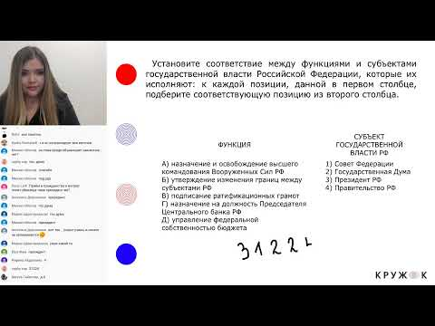 Государственные органы и их функции | Онлайн-школа Кружок