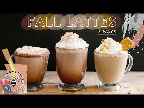 Video 3 EASY FALL LATTES - Honeysuckle