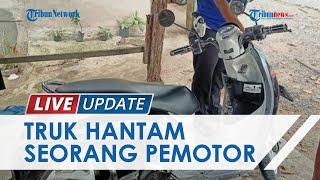 PNS Guru di Lampung Tewas Tertabrak Truk saat Kendarai Motor di Jalinsum, Sopir Tak Sadar